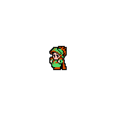 The green Onion Knight (NES).