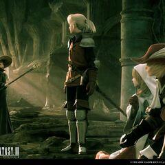 Группа героев в заставке версии игры для DS.