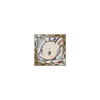 Moogle Knight icon in <i>Final Fantasy Tactics S</i>.