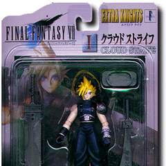 Cloud's Extra Knights action figure (Japanese version).