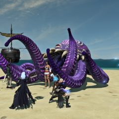 Ultros during the 2017 Moonfire Faire.