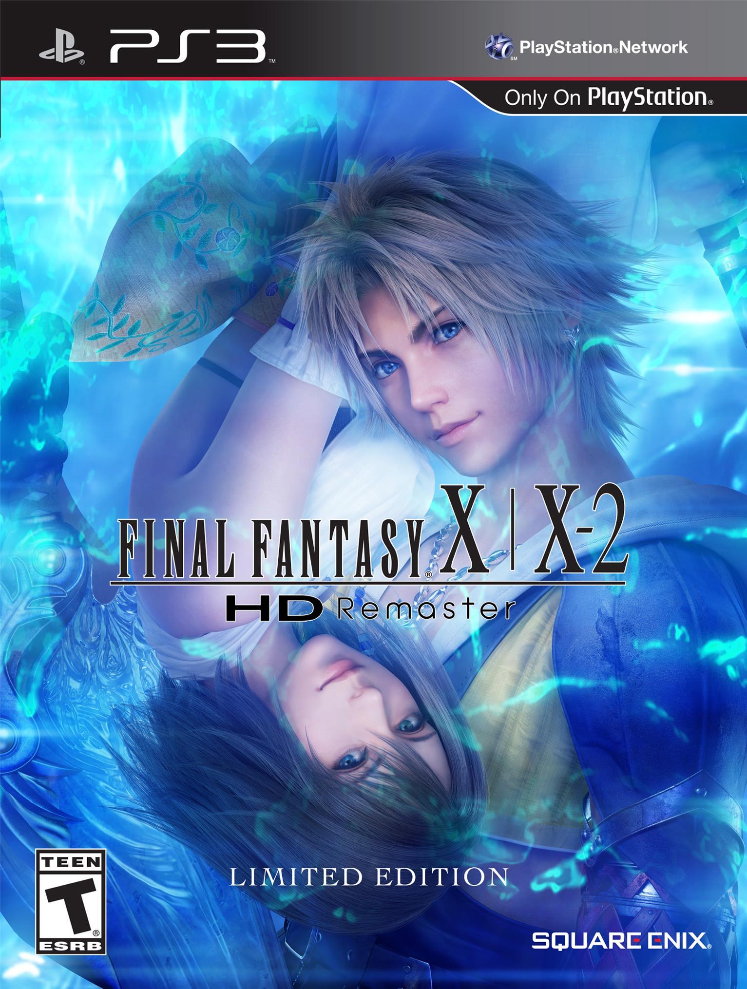 Kết quả hình ảnh cho Final Fantasy X and X-2 HD Remaster cover ps3