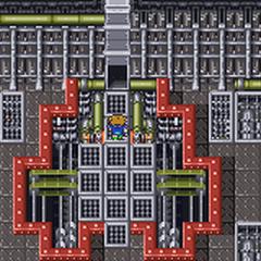 Sala de máquinas do Navio a Fogo (GBA).