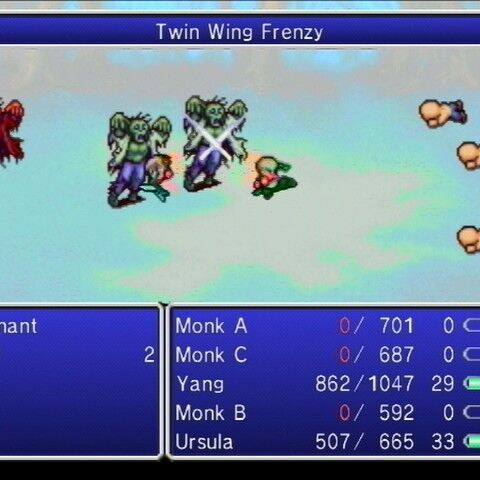 Twin Wing Frenzy.