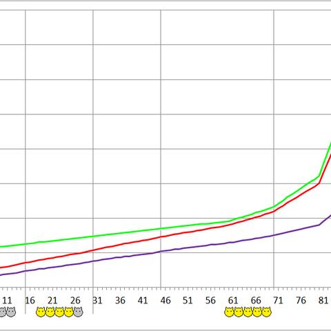 Calautidon development chart.
