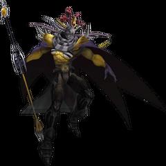 Renderização do EX do Imperador, <i>Imperador do Inferno</i>, no Dissidia Final Fantasy.