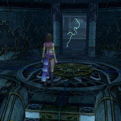 Djose Cloister of Trials in <i>Final Fantasy X-2</i>.