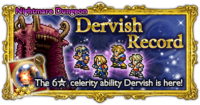 FFRK Dervish Record Nightmare