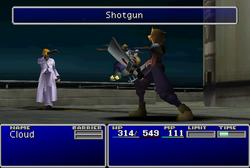 FFVII Shotgun