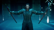 Gladiolus with two Genji Blades from FFXVRE
