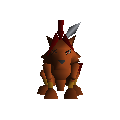 Field model from <i>Final Fantasy VII</i>.