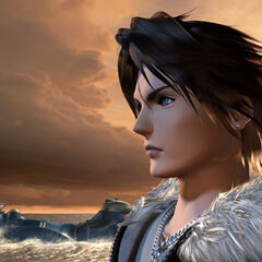 Squall's casual outfit in the demo.