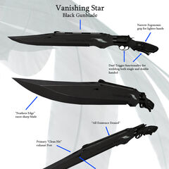 Concept art for the Vanishing Star.