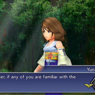 Yuna joins the party.