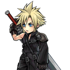 Artwork for Cloud's costume.