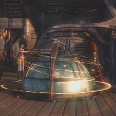The <i>Shera</i> hologram generator.