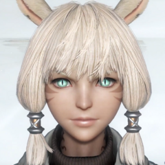 Y'shtola from the tutorial.