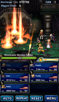 FFBE Arrow Shower