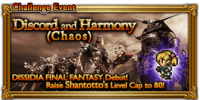 FFRK Discord and Harmony (Chaos) Event