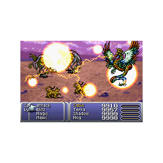 Valigarmanda summoned (GBA).