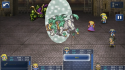 FFVI iOS Holy Aura