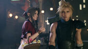 Final Fantasy VII Remake State of Play Cloud and Aerith