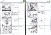 Bahamut Summon FFVII Storyboard