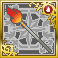 Flame Spear in <i>Final Fantasy Airborne Brigade</i> (SR+)