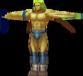 FFIII Model Gold Warrior