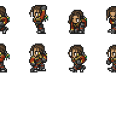 Set of Kiros's sprites.