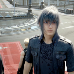 Noctis at the Citadel.