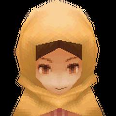 Render de uma mulher de Kaipo (DS/iOS).