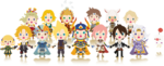Theatrhythm CC Characters