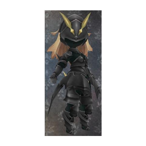 Edea as a Dark Knight.