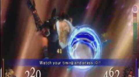 Dissidia Final Fantasy - Tidus's EX Burst