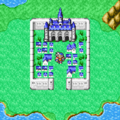 Fynn on the World Map (GBA).