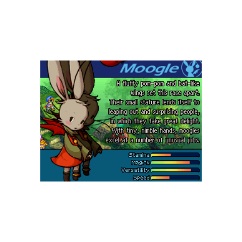 Moogle introduction.