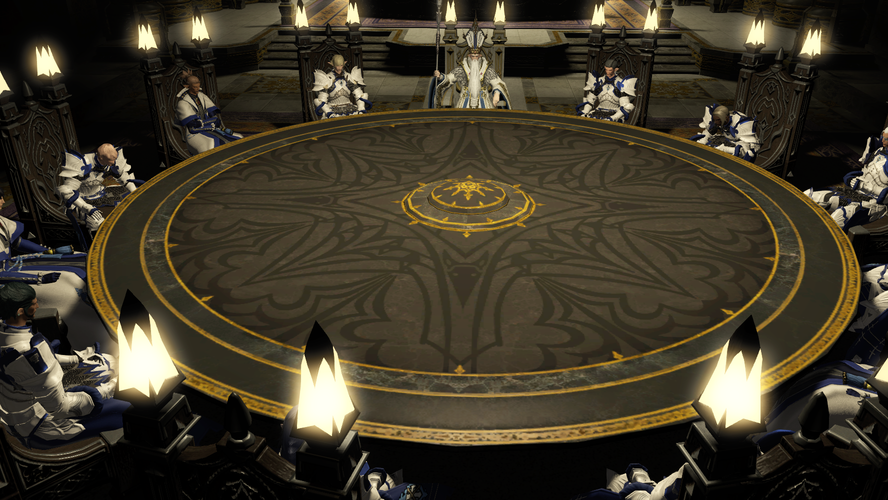 Heavens 39 ward final fantasy wiki fandom powered by wikia for 12 rules of the round table