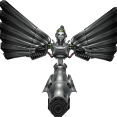Model of the Jenova doll in <i>Crisis Core -Final Fantasy VII-</i>.