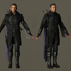 Модель персонажа с