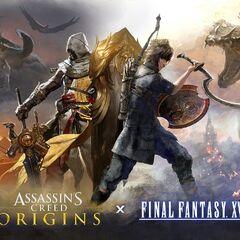 Ноктис и Байек - протагонист <i>Assassin's Creed Origins</i>.