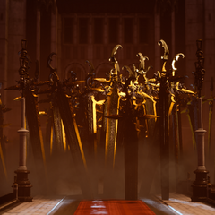 Bahamut's swords in <i>Episode Ardyn</i>.