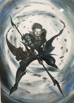 FFBE - Cid - Amano artwork