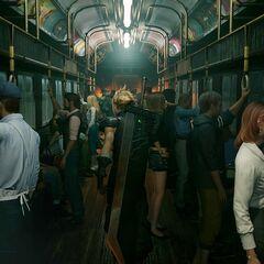 Train in <i><a href=