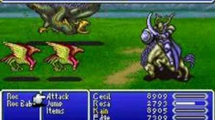 Final Fantasy IV Advance Summon - Odin