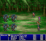 Final Fantasy Origins Final Fantasy II Battle