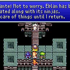 Dr. Lugae talking about the destruction of Eblan.