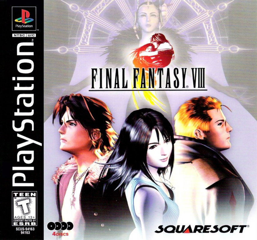 Image result for Final fantasy 8 box art