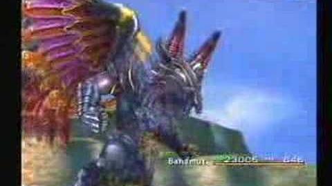 Final Fantasy X - Bahamut - Impulse & Mega Flare