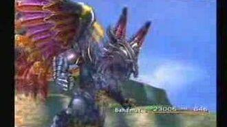 Final Fantasy X - Bahamut - Impulse & Mega Flare
